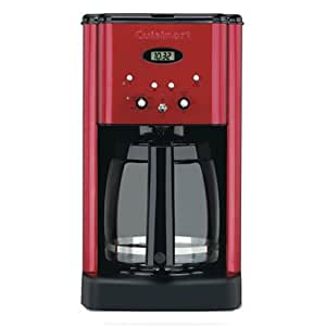 Cuisinart DCC-1200MR 12CUP Programmable Coffeemaker 12 Cup Metallic Red