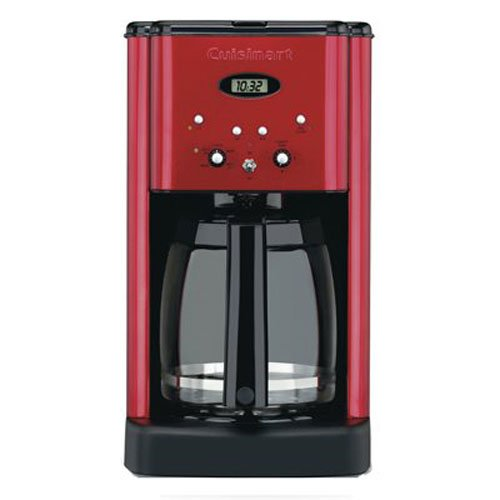 Cuisinart DCC 1200MR Programmable Coffeemaker Metallic
