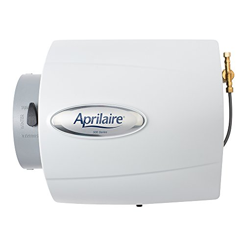 Aprilaire 500 Whole House Humidifier, Dual Sensor Compact Furnace Humidifier