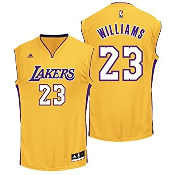 info for 9b5ea 9ca77 Los Angeles Lakers Home Replica Jersey - Louis Williams ...