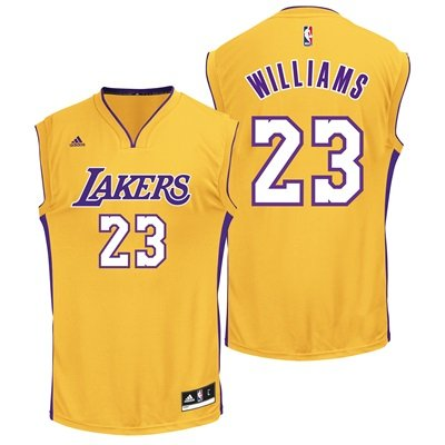 4004b432bee Los Angeles Lakers Home Replica Jersey - Louis Williams - Mens  Amazon.co.uk   Kitchen   Home