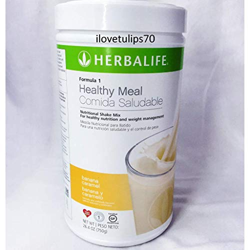 Shake Mix Banana - Herbalife Formula 1 Healthy Meal Nutritional Shake Mix: Banana Caramel 750 g