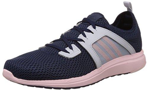 adidas Durama W, Zapatillas de Running para Mujer Negro / Blanco / Rosa (Maruni / Rolhal / Azuhal)