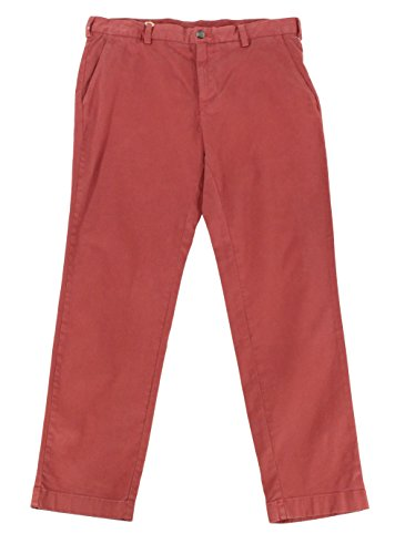 Brooks Brothers Mens 34X30 Khakis Chinos Flat Front Pants Red - Brooks Brothers Returns