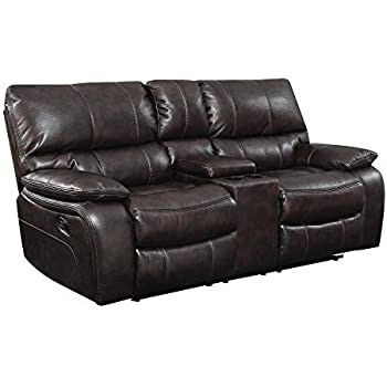 Astounding Coaster Home Furnishings Co Willemse Collection Motion Loveseat Two Tone Dark Brown Short Links Chair Design For Home Short Linksinfo