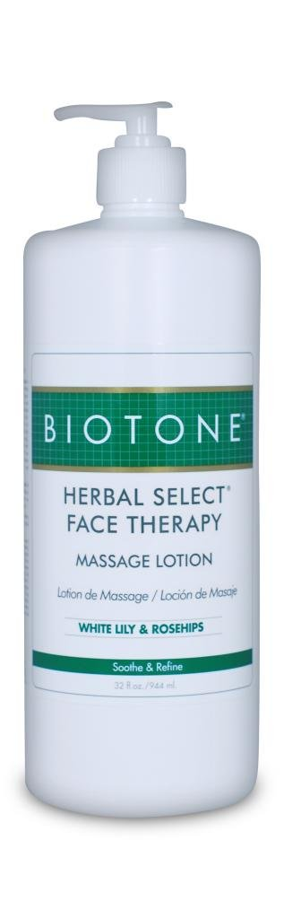 Biotone Herbal Select Massage Products Face Therapy Lotion, 32 Ounce by Biotone Professional Products