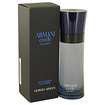 Armani Code Colonia by Gîórgîó Ârmáñî for Men Eau De Toilette Spray 2.5 oz