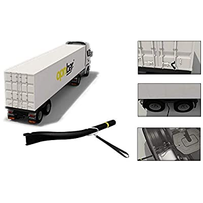 Image of Shipping Container Safety International 6f706e626172 OPNBar Shipping Container Safety and Trucker Tool - 3 Trucker Tools in 1: Leverage Bar Commercial Door Hardware