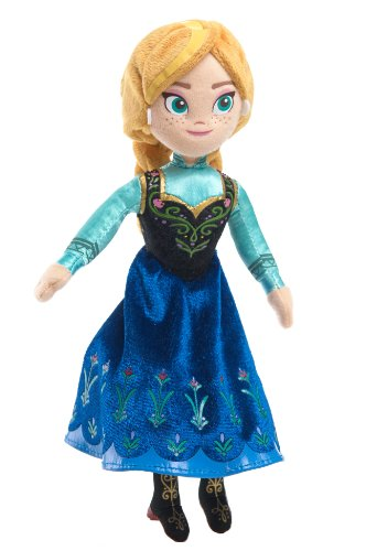 Disney Frozen Anna Talking Bean Plush (Disney Frozen Bean Sven Plush)
