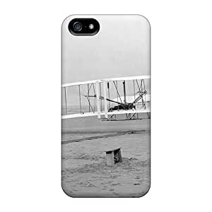 New Style STWanke Hard Case Cover For Iphone 5/5s- Wright Bros