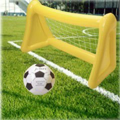 Ball Costume Inflatable (Official Costumes Inflatable Soccer Goal with)