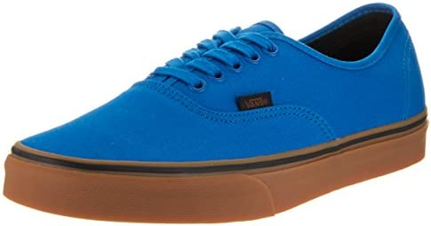 Vans Unisex Shoes Authentic Imperial Blue Black Gum Fashion Skate Sneakers