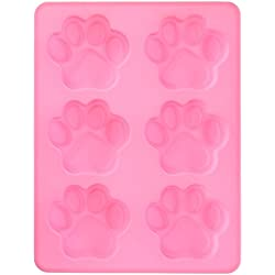 HeroNeo® Silicone Mould Mold Ice Cube Tray Chocolate Cake Muffin Soap Cupcake Molds DIY (6-Cat's Paw)