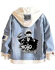 Luohua Jujutsu Kaisen Hoodies Jeansjas Yuji Itadori Cosplay Unisex Volwassen Jujutsu Kaisen Anime Sweatshirts Pullover