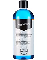 AmazonBasics - Producto limpiador de coche (Ultimate Car Wash), botella de 500 ml con tapa abatible