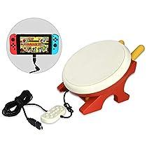 太鼓ゲーム 専用コントローラー 連動太鼓とバチセット