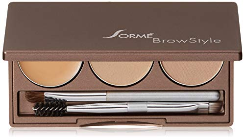 Sorme Cosmetics Brow Style, Soft Blond, 0.2 Ounce