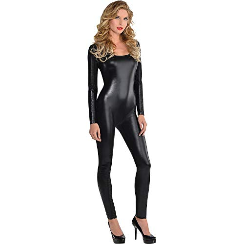 Liquid Black Catsuit - Adult S/M -