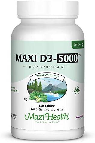 Maxi Health D3 5000 Tablets