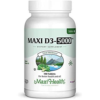 Amazon.com: Maxi Salud Natural Vitamina D3 –