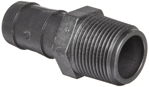 Banjo HB100 Polypropylene Hose Fitting, Adapter, 1