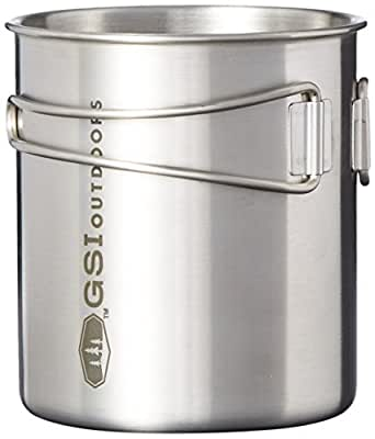 GSI Outdoors Glacier Stainless Bottle Cup/Pot
