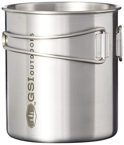 GSI Outdoors Glacier Stainless Bottle Cup/Pot, 20 fl oz