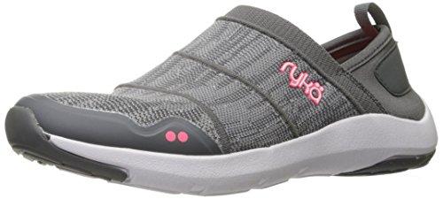 RYKA Womens Elena Nrg Sneaker Grey/Coral