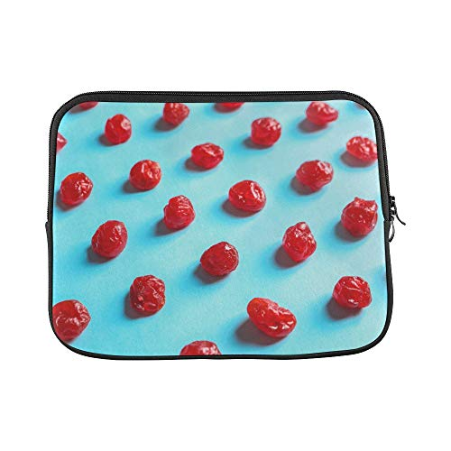 Design Custom Berry Fruit Sweet and Sour Creative Sleeve Soft Laptop Case Bag Pouch Skin for MacBook Air 11