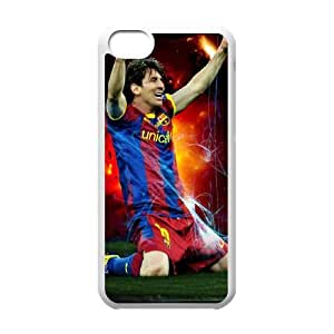 iPhone 5c Cell Phone Case White Lionel Messi Phone cover E1349037