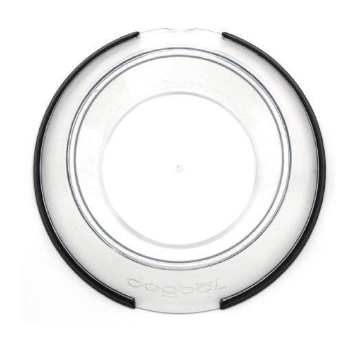petprojekt Large Dogbol, Dog Dish, Clear by PetProjekt