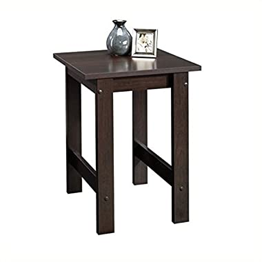 Sauder Beginnings End Table, Cinnamon Cherry