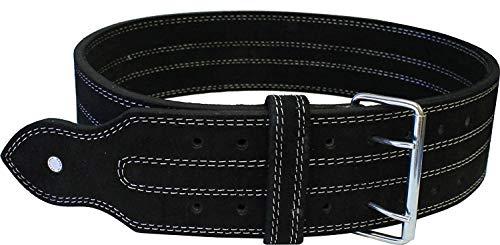 "Ader Power Weight Lifting Belt- 4"" Black (XXX Large)"