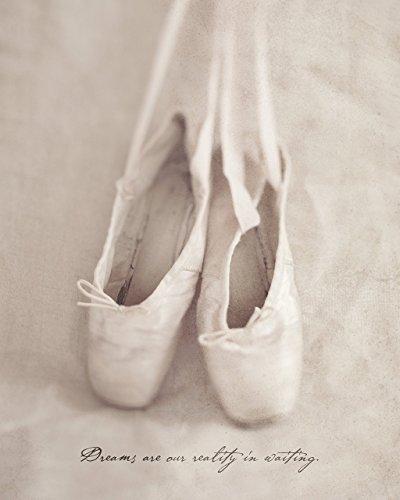Ballet Dancer Girls Room Decor, Ballerina Nursery Blush Pink Wall Art