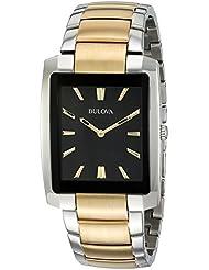 Bulova Men's 98A149 Analog Display Quartz Two Tone Watch