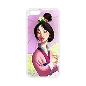 iPhone 6 4.7 Inch Cell Phone Case White Mulan II S0414133