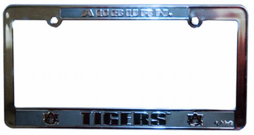 NCAA Auburn Tigers Car Tag Frame - Pewter License Plate Shopping Results