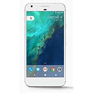 "Google Pixel XL (128GB, 4GB RAM) 5.5"" AMOLED HD Display, Global 4G LTE, US Factory Unlocked Model (GSM, Verizon, Sprint) - Very Silver"