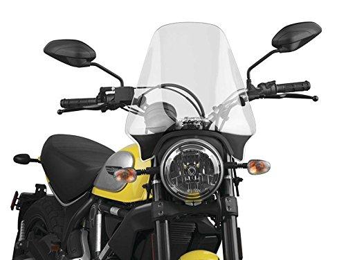 National Cycle U-Clamp Clear Street Shield N25000 - National Cycle Shields