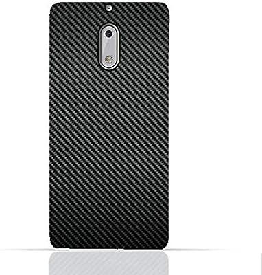 online store 548c3 2b114 Nokia 6 TPU Silicone Case with Carbon Fiber Design: Amazon.com: AMC ...
