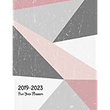 2019-2023 Five Year Planner: Monthly Schedule Organizer - Agenda Planner For The Next Five Years, 60 Months Calendar, Appointment Notebook, Monthly Planner, To Do List, Action Day, Passion Goal Setting, Happiness Gratitude Book | Pink Happy Cover
