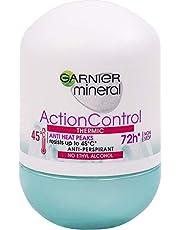 Garnier Mineral Action Control Antyperspirant w kulce, ochrona do 72 h, z termo-aktywnymi składnikami, 50 ml