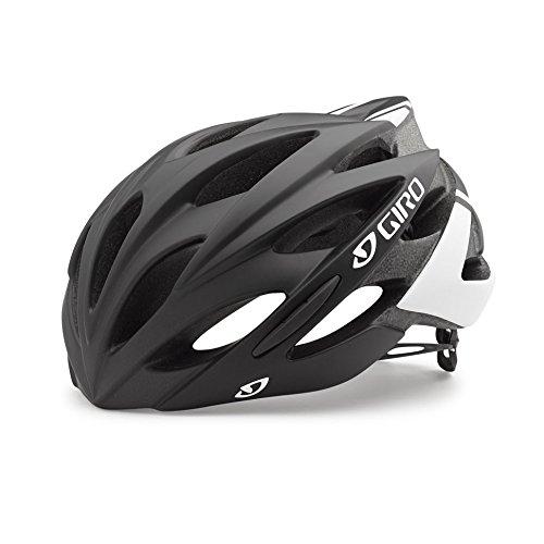 Giro Savant Rennrad Fahrrad Helm schwarz weiß matt 2019