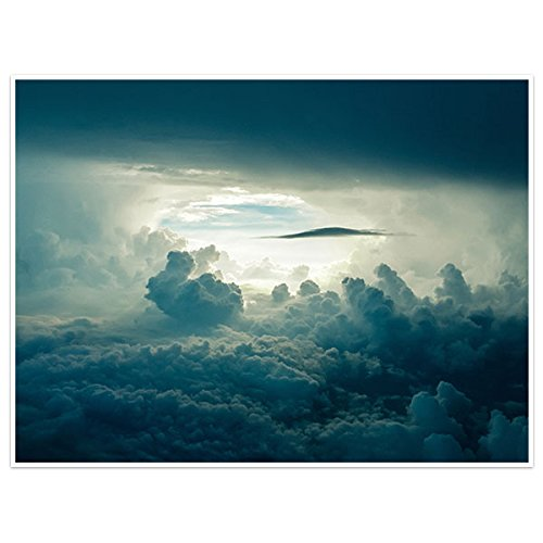 (Clouds Wall Art Poster)