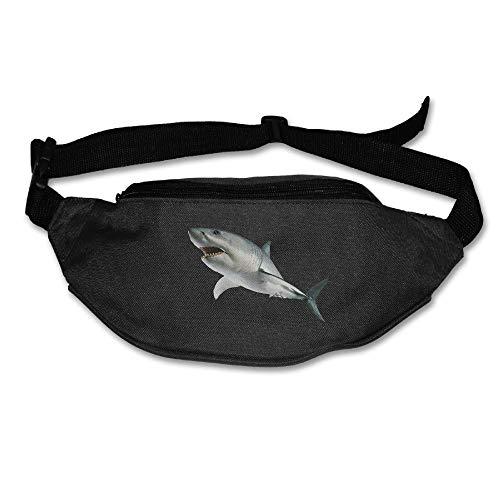 Kuglobal Great White Shark Outdoor Running Waist Bag Pack Sp