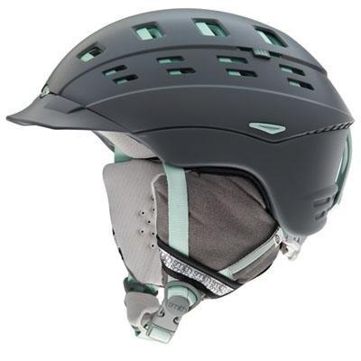 Smith Optics Women's Variant Brim Helmet (Small/51-55-cm, Charcoal Leila) (Variant Helmet Smith Optics)
