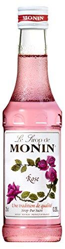 Mini Monin Syrup - Rose (250ml)
