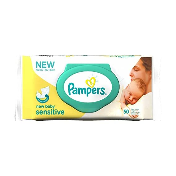 Pampers New Baby Sensitive Baby Wipes (50 Wipes)