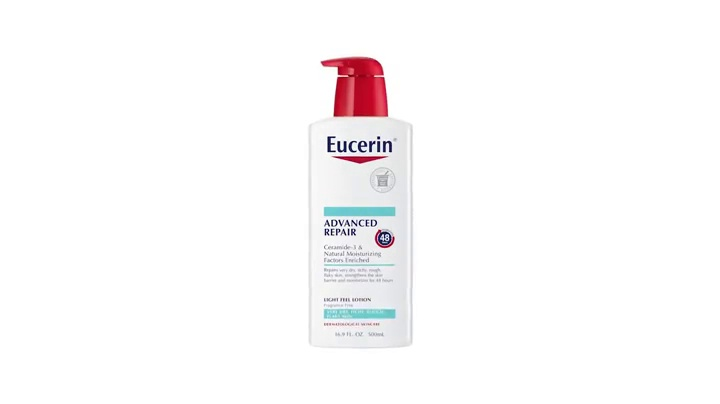 Eucerin Intensive Repair Lotion - Rich Lotion for Very Dry, Flaky Skin - Use After Washing With Hand Soap - 16.9 Fl. Oz. 7