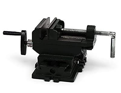 Nordstrand 4-inch Cross Slide Vise for Drill Press Table Bench Metal Milling Machine